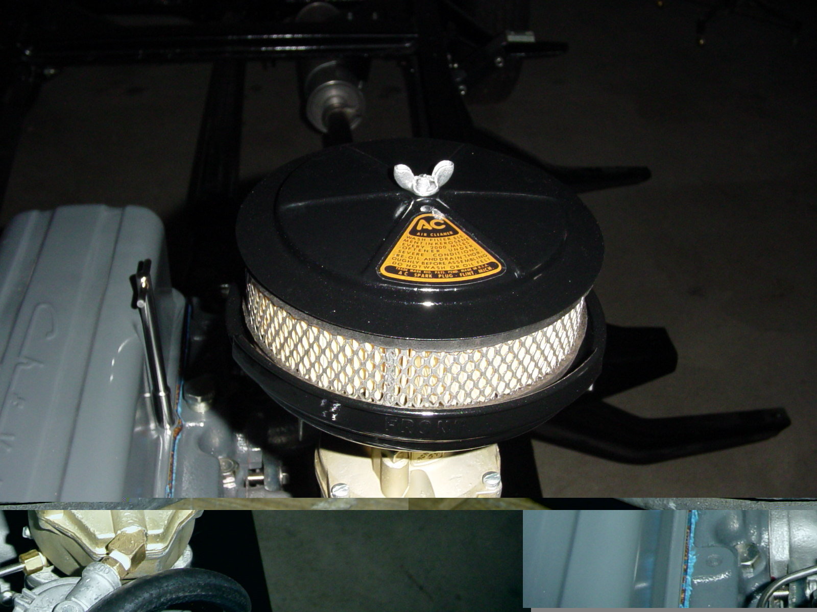 Dryfilter Lg on Chevy 235 Oil Filter