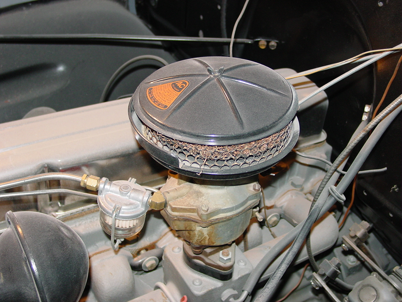 Truck Oil Bath Air Cleaner : Air filter options for your  advance design truck