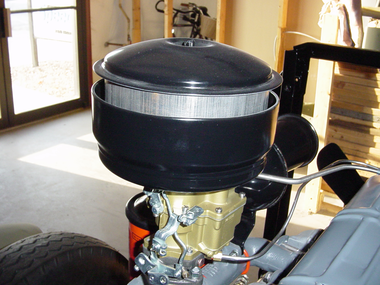 F30 Oil Bath Air Cleaner : Ad air filter options