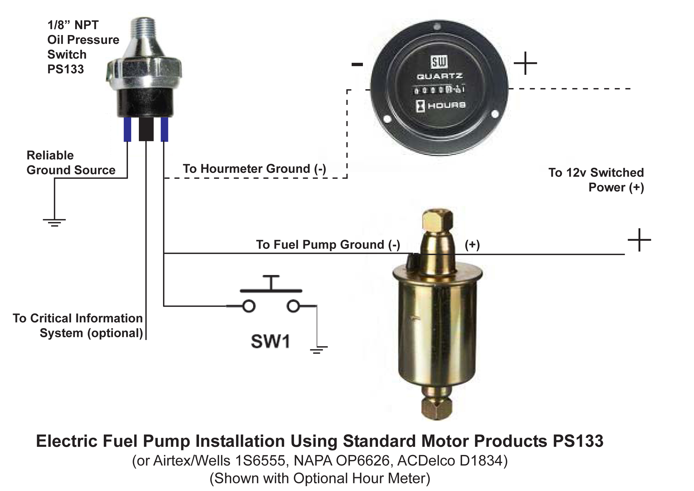 The Mechanical Fuel Pump Has Gone Way Of Dinosaur As They Say And Pumps Have Not Been Used For Oem Purposes Since Mid 1980 S