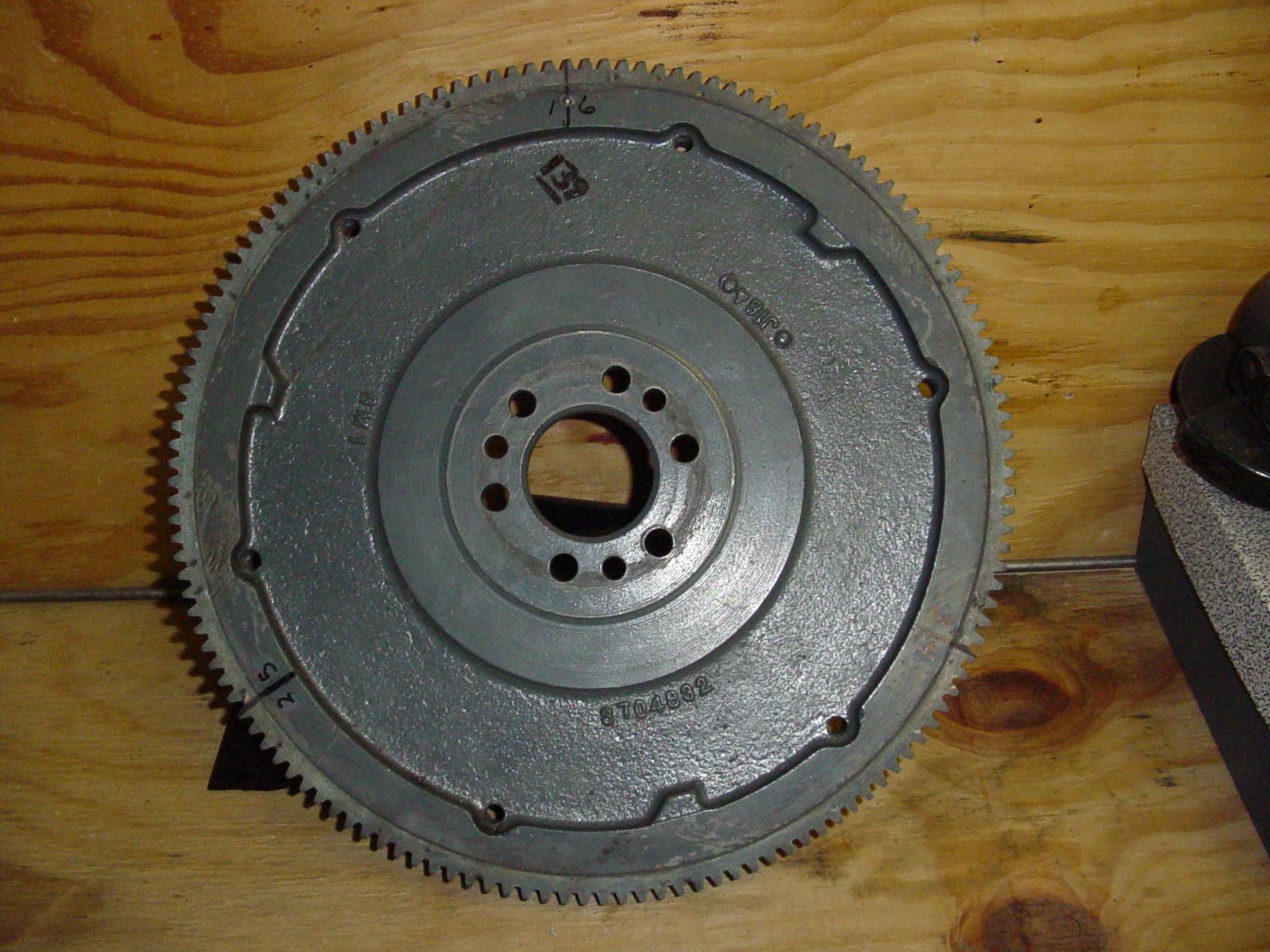 6 Volt Vs 12 Volt Flywheels Explained Chevy Truck Clutch Linkage Diagram  1948 Chevy 216 Clutch Diagram