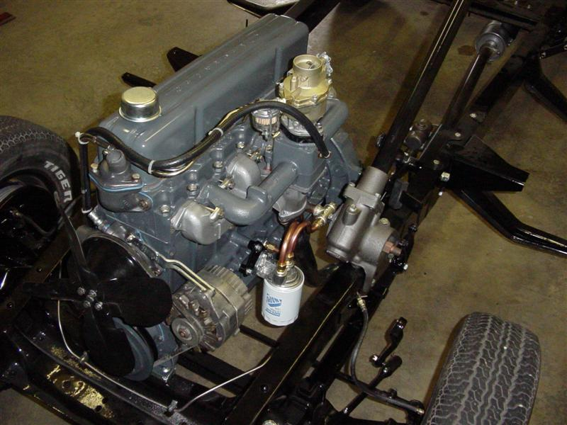 Oilfilter Lg on Chevy 235 Oil Filter
