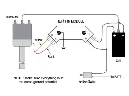 Schematic1 installing your new hei system delco remy hei distributor wiring diagram at edmiracle.co
